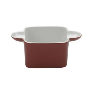 BIA SCOOP! Stoneware Ramekin Red