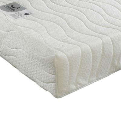 Happy Beds Spring Memory Foam Orthopaedic Open Coil Mattress 3ft Single