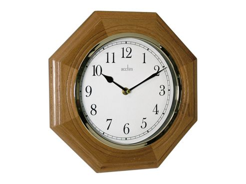 Acctim 24196 Richmond Wall Clock Oak