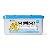 Petkin Pet Wipes 100 Pack