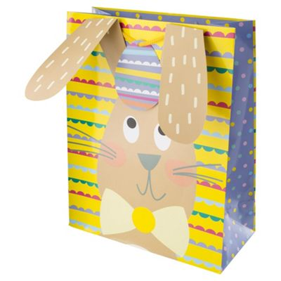 Buy easter large bunny bag from our gift wrap range tesco easter large bunny bag negle Image collections