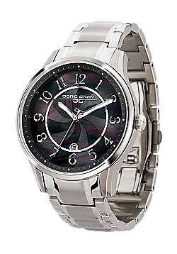 Jorg Gray Women' s Watch JG1200-11 Steel Strap Black Dial