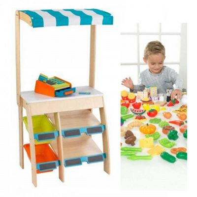 Kidkraft Grocery Market Place with Accessories