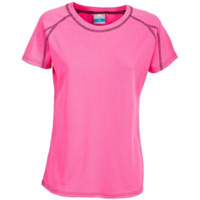 Trespass Ladies Mamo T-Shirt Hi Viz Pink M