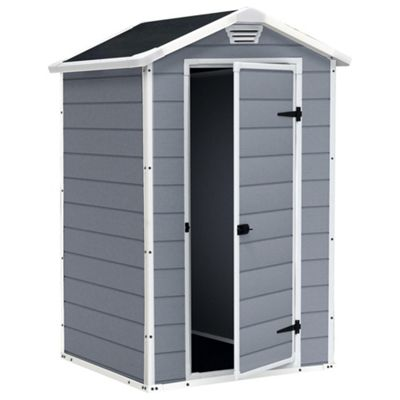 Keter Manor Plastic Shed, 4x3ft