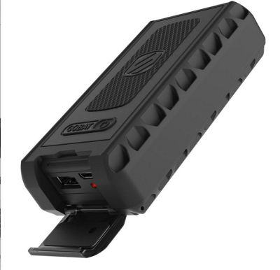 Scosche goBAT 6000 Rugged Portable Backup Battery 6000mAAh Black