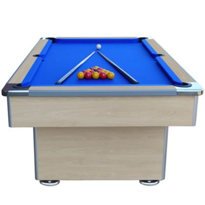7ft Beech Speedster Slate Bed Pool Table