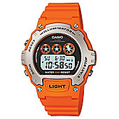 Casio Sports Unisex Resin Chronograph Watch W-214H-4AVEF