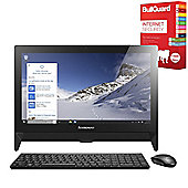 "Lenovo IdeaCentre C20 19.5"" Full HD All-in-One PC 4GB RAM 500GB HDD Win 10 Home with Free Internet Security"