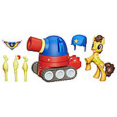 My Little Pony Guardians Of Harmony Cheese Sandwich Wooferbug Tank Playset