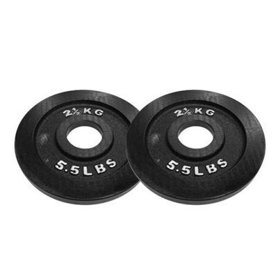 Body Power Cast Iron Olympic (2 Inch) Discs - 2.5kg (x2)