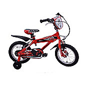 "Ammaco MX14 Boys Red 14"" Wheel Bike"