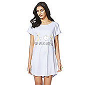 Disney Beauty and the Beast Be Our Guest Nightie - Blue