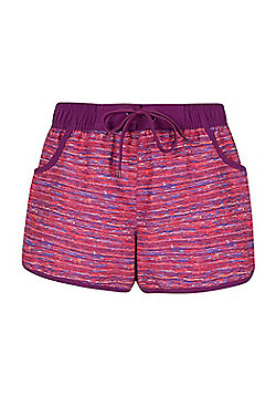 Mountain Warehouse Patterned Womens Boardshorts - Pink