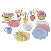 KidKraft 27-Piece Pastel Cookware Set