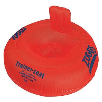 Zoggs Orange Floating Trainer Seat 12-18 months Up to 15kg