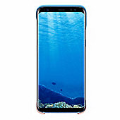 Samsung Galaxy S8 2Piece Cover - Blue & Peach