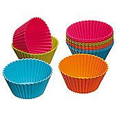 Kitchen Craft Colour Works Silicone Cupcake Case X12