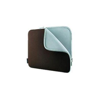 Belkin F8N160E Neoprene Sleeve for Notebooks up to 15.6 inch - Chocolate/Tormaline