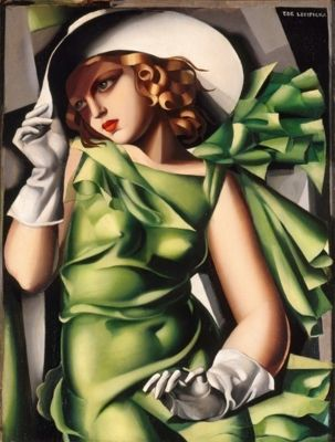 Lempicka - Young Lady in Green - 1000pc Puzzle