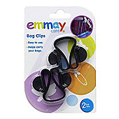 Emmay Pushchair Bag Clips (Twin Pack)