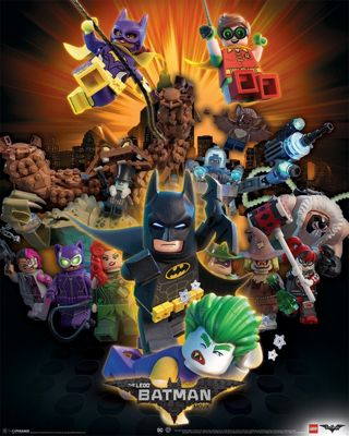 Lego Batman Boom Mini Poster 40x50cm
