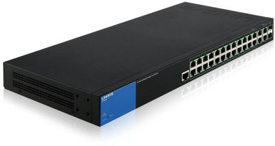 Linksys LGS528P 28-Port Managed Business Gigabit PoE+ Switch