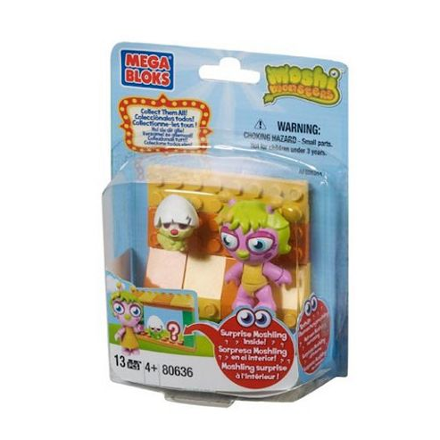 Mega Bloks Moshi Monsters Multi Pack Zoo and Horrods Shop Keeper