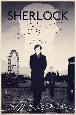 Sherlock London Poster