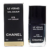 Chanel Le Vernis Green Nail Polish 679 Vert Obscur