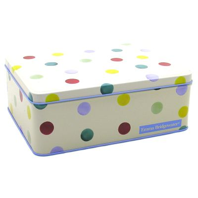 Emma Bridgewater Polka Dot Deep Rectangular Tin