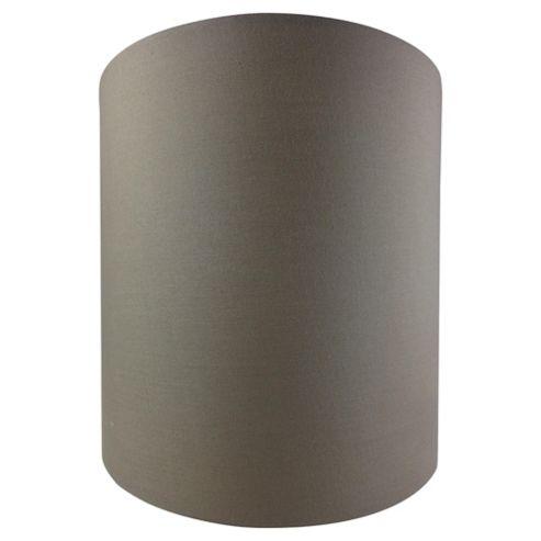 Tesco Lighting Drum Shade 22X22cm, Taupe