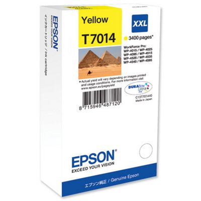 Epson T7014 Extra High Ink Cartridge - Yellow