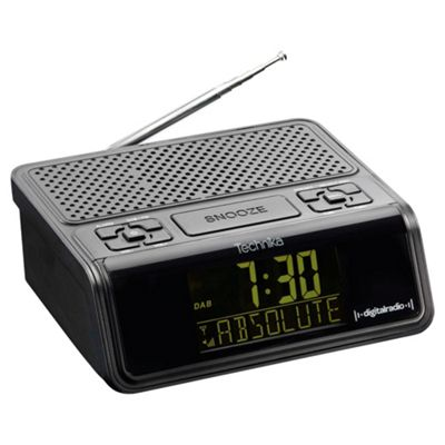 Technika DCR1301 DAB Clock Radio