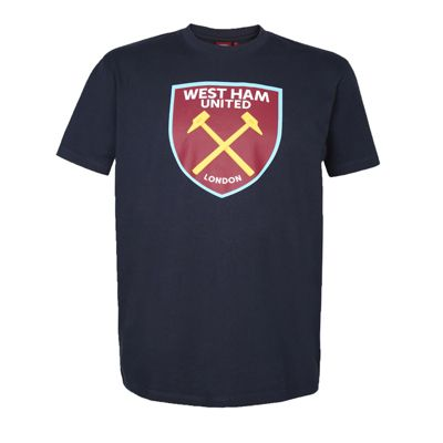 West Ham United FC Kids T-Shirt Navy 6-7 Years