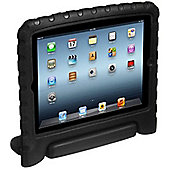 Kidprotek 2-In-1 Chunky Case and Stand for iPad Mini - Black