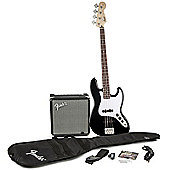 Squier by Fender Affinity J Bass and Rumble 15 Amp