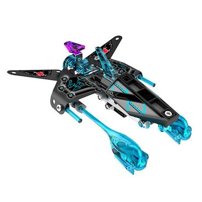 Meccano Space Chaos Raven Corvette Dark Pirates