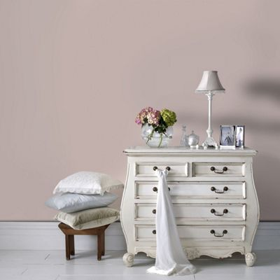 Superfresco Easy Paste The Wall Plain Textured Tany Pink Wallpaper