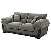 Kendal Jumbo Cord Sofa bed, Dark Grey