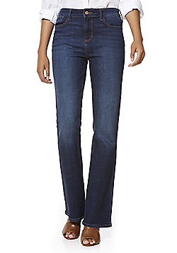 F&F Authentic Mid Rise Bootcut Jeans - Indigo