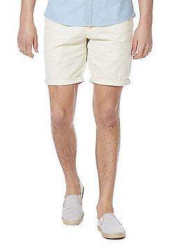 F&F Chino Shorts - Cream