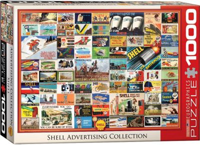 Shell Advertising Collection - 1000pc Puzzle