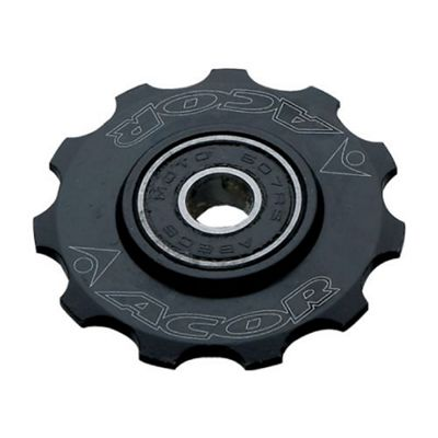 Acor 11T CNC Alloy Jockey Wheel, Black