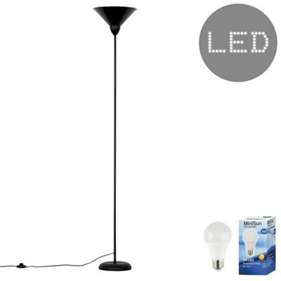 Regatta LED Floor Uplighter - Black