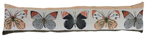 Country Club Woodland Design Tapestry Draught Excluder, Butterfly