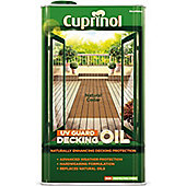 Cuprinol UV Guard Decking Oil - Natural Cedar - 5 Litre