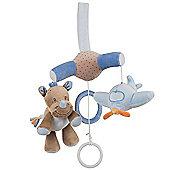 Nattou Mini Baby Cot Mobile - Arthur and Louis