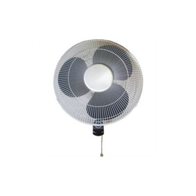 Q-Connect KF00406 16 inch Wall Fan, 3 Speed - White