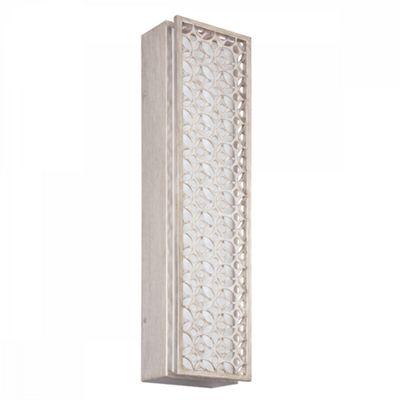 Sunrise Silver 4lt LED Wall Light - 40W LED